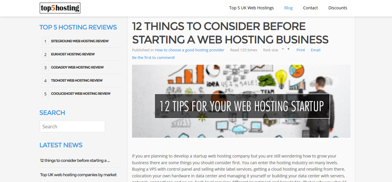 top5hosting design